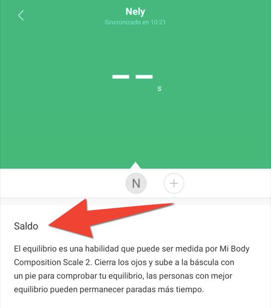Traducciones imprecisas: 'saldo' por Xiaomi