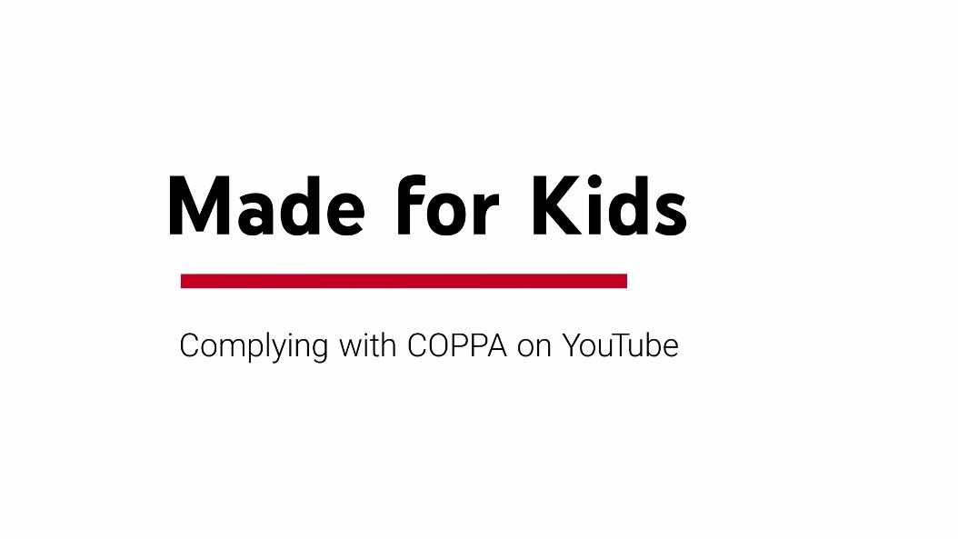 YouTube ahora pide indicar si tus vídeos son Hechos para Niños para cumplir con la COPPA