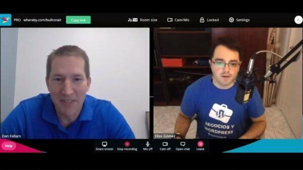 Entrevista en el podcast BuiltOnAir hablando sobre Airtable y cómo lo uso en mi negocio de Dj de eventos