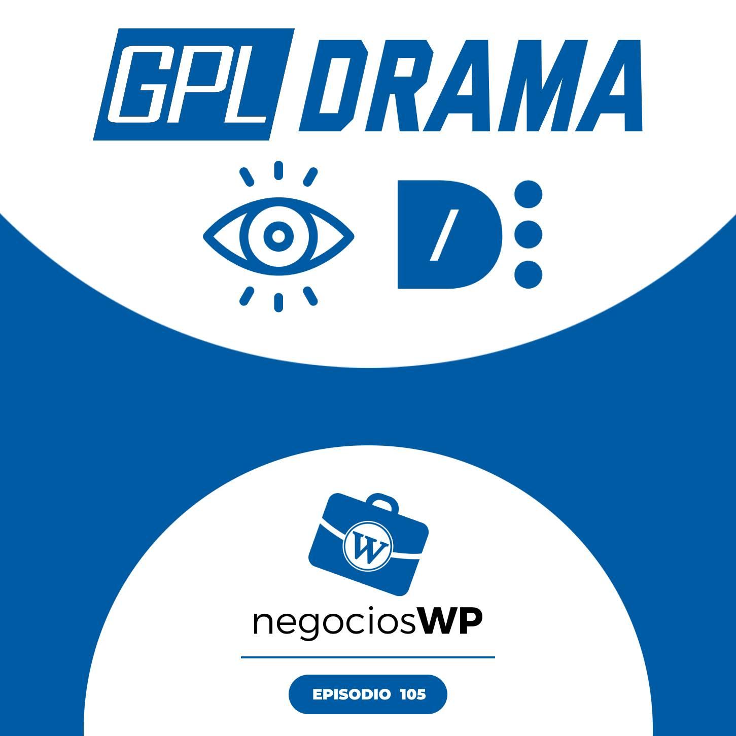 105. WPdrama sobre GPL, la ciencia del color y tokens dinámicos
