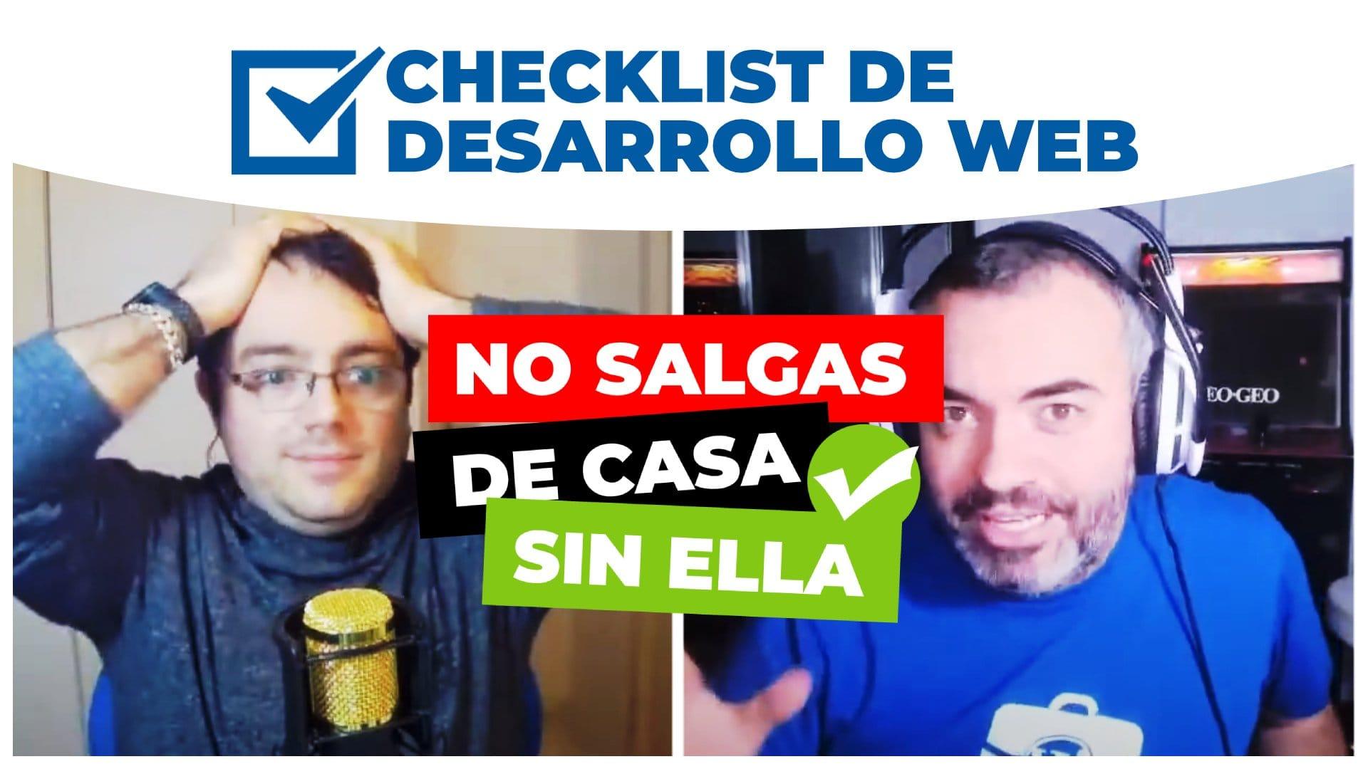 126. Checklist de desarrollo web con WordPress