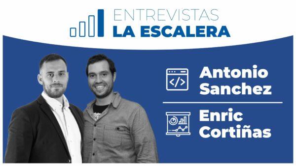 135. Entrevistamos a Antonio Sánchez y Enric Cortiñas de La Escalera Podcast