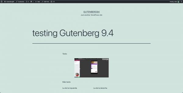 El editor de bloques funciona mejor de lo que crees (comentarios a 193. Rant a Gutenberg)
